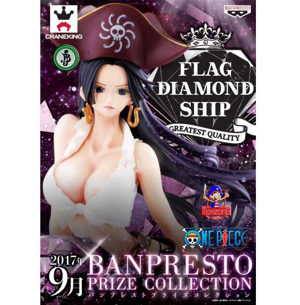 ワンピース FLAG DIAMOND SHIP-BOA.HANCOCK